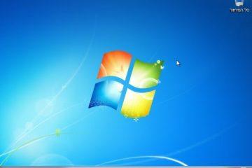 התקנת Windows 7