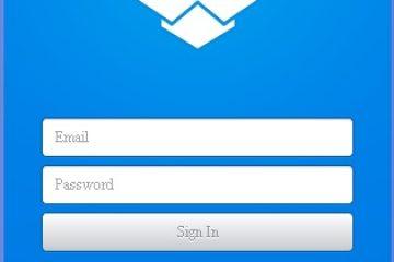 הפעלה והתקנת Dropbox